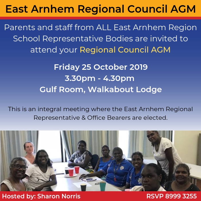 Invite - East Arnhem Regional Council AGM - 25Oct2019.png