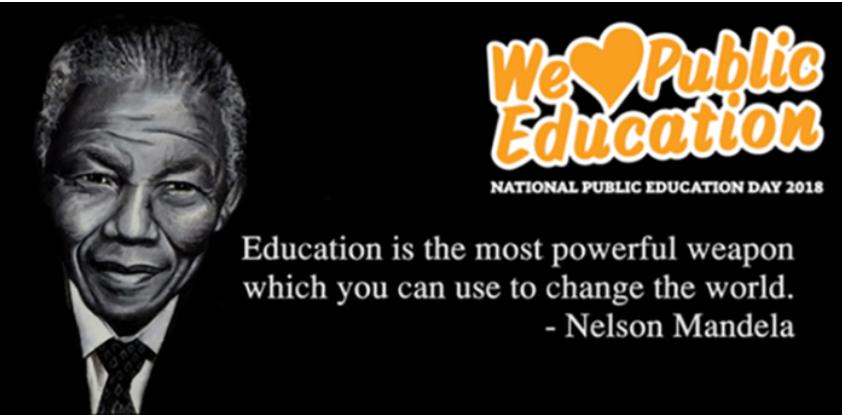 We love public education