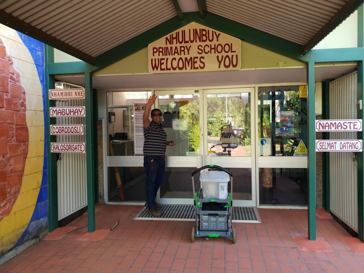 Nhulunbuy Primary School welcome