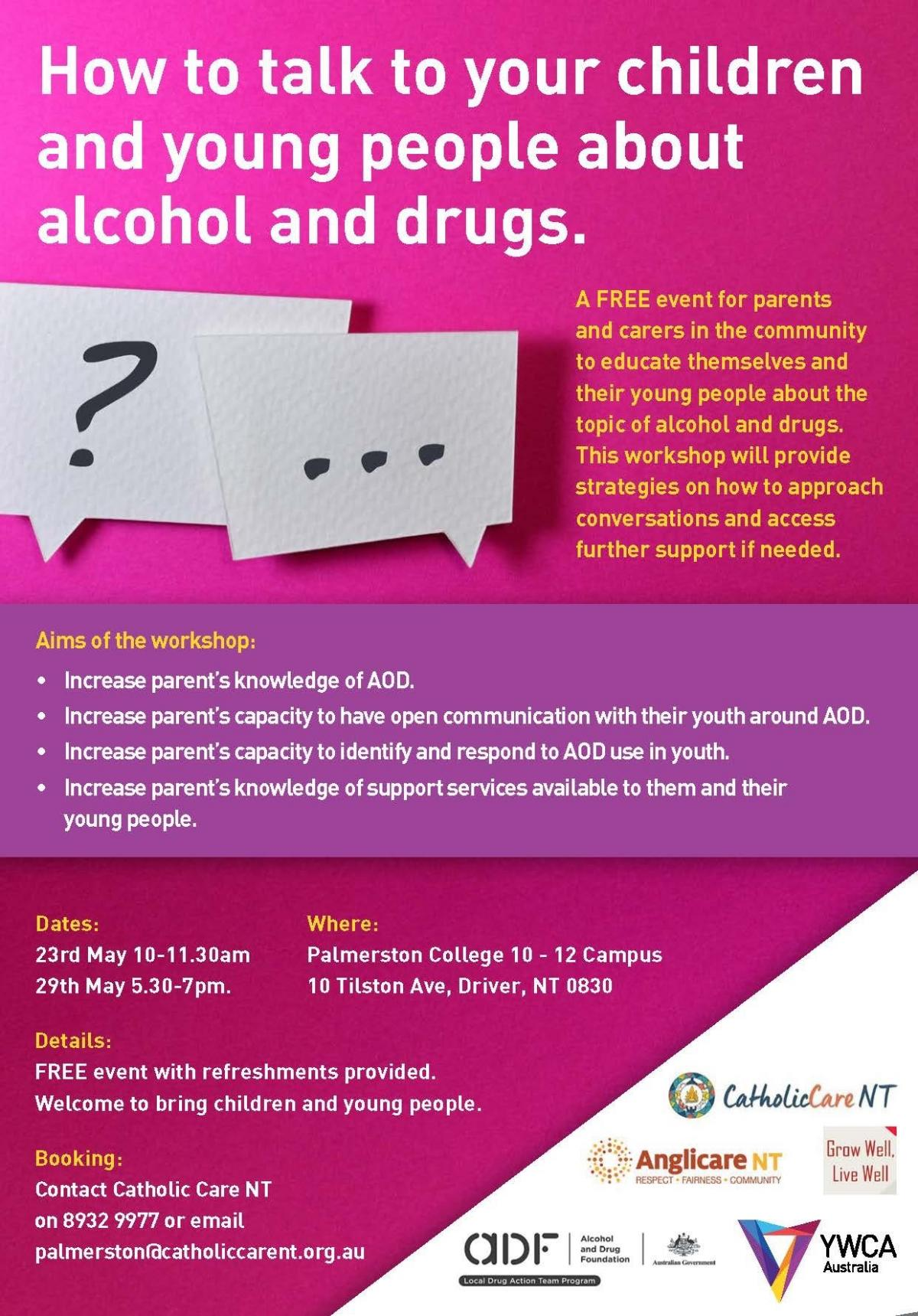 How To Talk About Drugs With Someone I Care About Australian >> How To Talk To Your Children And Young People About Alcohol And